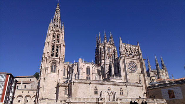Cathedral of St. Nicholas in Burgos, Spain