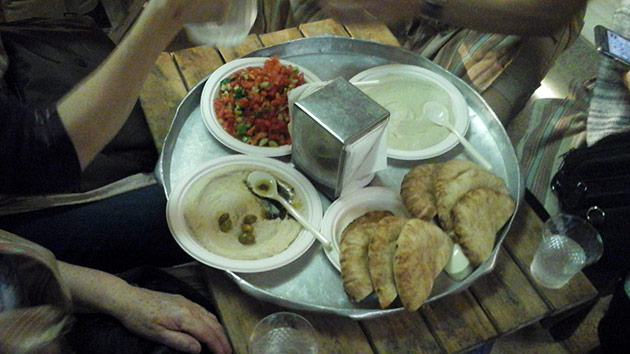 Galilean Dinner at a Bedouin Camp